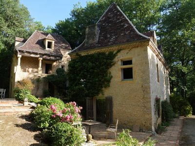 Photo for Family property in the Dordogne in a landscaped English style with swimming pool