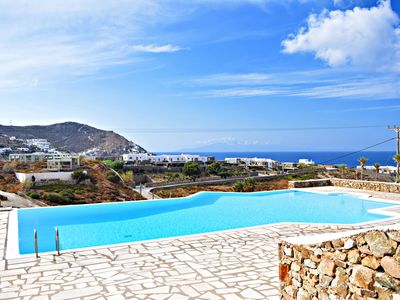 Photo for Cavo Blue - 3 bedroom villa with sea view and large shared pool