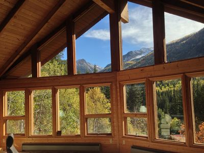 Photo for Overlook the Crystal River with amazing views of the Elk Mountains!