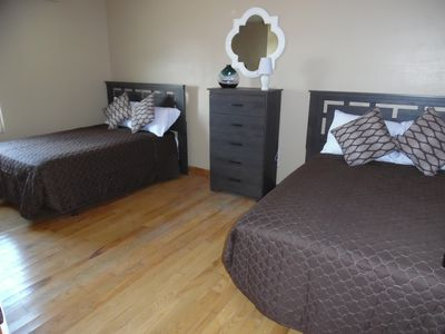 2nd room - 2 Double beds