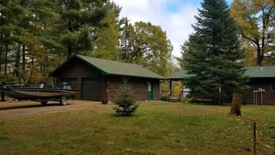 Photo for Awesome Cabin on Leech Lake with Wooded Views!