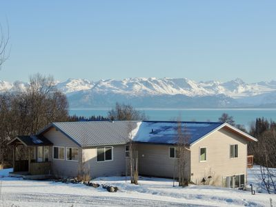 Photo for The North Star House; sweeping ocean & mountain views, close to town and harbor
