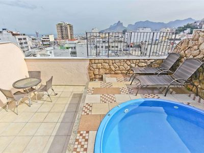 Photo for CaviRio - Penthouse with private pool - Copacabana (F1103)