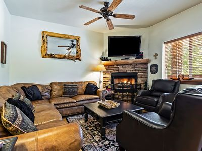 Photo for Home w/private hot tub, fireplace; shared pool & fitness