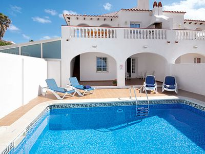 Photo for Centrally located villa close to popular resort ideal for families, with great sea-views and Wi-Fi