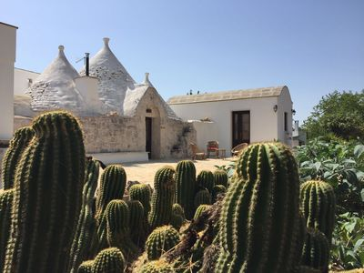 Photo for MAGIC TRULLO TO CHECKS WITH EXTERNAL POOL - DISCOUNTS FOR AUGUST !!!