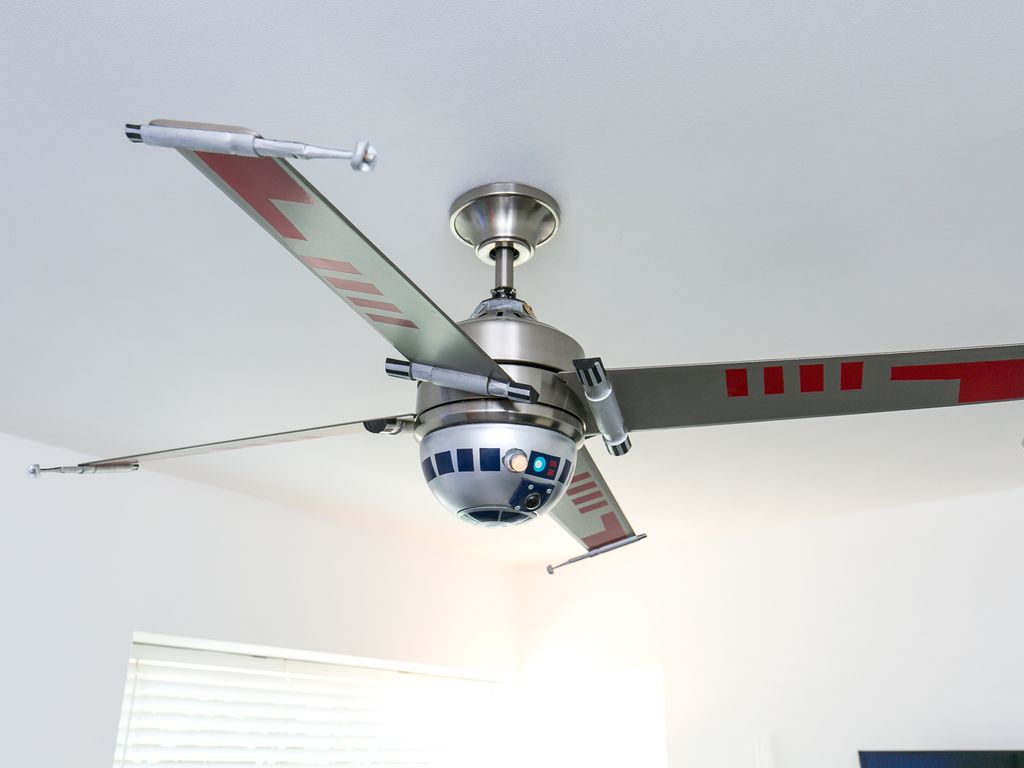 Star Wars Themed Ceiling Fan Pranksenders