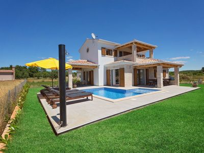 Photo for Villa with swimming pool situated in quiet location on the edge of the village
