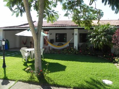 Photo for Beautiful and Cozy House in Gated Community in São Pedro Aldeia