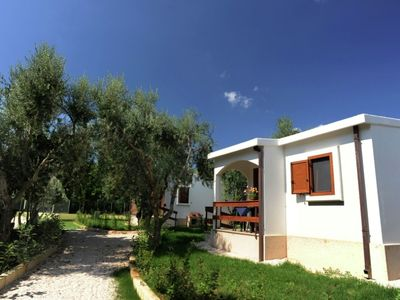 Photo for Farmhouse with pool and tennis court close to the sea in National Park