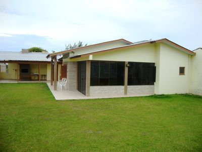 Photo for Single House On The Patio With Four Bedrooms In Capão Da Canoa