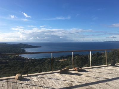 Photo for House with garden, breathtaking views of the bay of Ajaccio and La Castagne