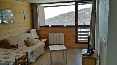 Photo for SUPER BESSE Apartment 4-5 people - foot of the slopes - All comfort Warm