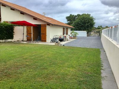 Photo for BISCARROSSE BOURG / MAISONNETTE NEUVE FOR 2 PEOPLE PRIVATE COURTYARD 3 STARS