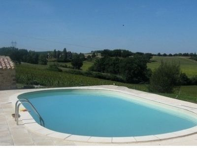 Photo for Charming cottage with private pool near Issigeac, in Périgord Pourpre
