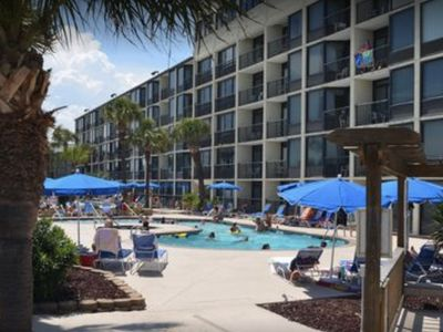 Photo for Beach front condo for 4th of July week!