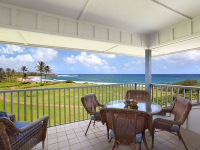 Photo for Poipu Sands at Poipu Kai #521: Fresh & Breezy Unit with Amazing Ocean View!