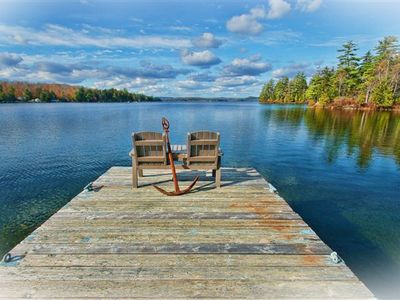 Photo for Loon Point Lakeside Lodge~ New Upscale Rustic Lodge