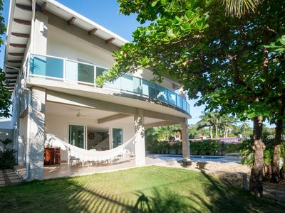 Photo for Spectacular contemporary home just steps from the beach