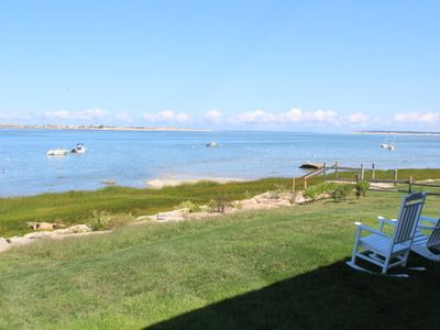 Photo for Ideal Beach House Waterfront on Barnstable Harbor; 155-Ba