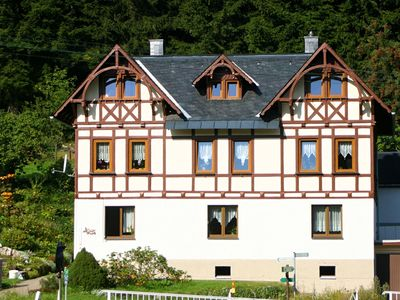 Photo for Quiet, relaxation and cosiness; appartment in the Erzgebirge (Ore Mountains) with a nice terrace