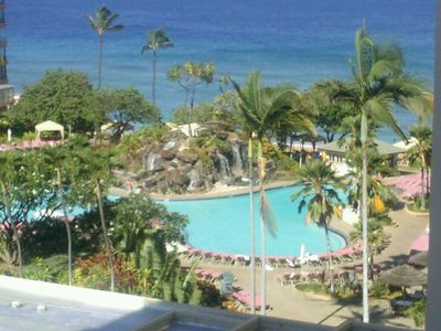 Photo for Kaanapali Beach Club Deluxe ocean view, avail only 3/16/19(7-14 nights)