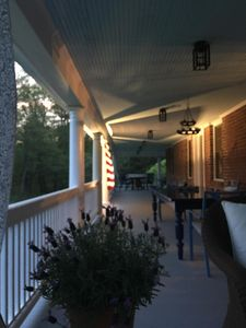 View of the very Large Porch