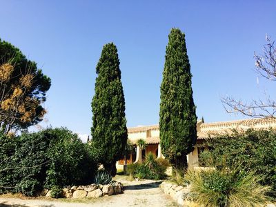 Photo for Languedoc Mas of 170m2 with garden of 1700m2