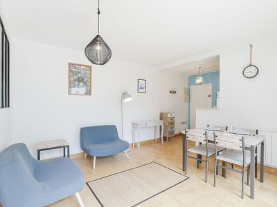 Photo for Lovely apartment for 4 guests with TV and parking