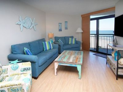 Sand Dunes North Tower 1508,  3 BR Ocean View Condo with Indoor Outdoor Pools, Hot Tubs, Lazy River and Kiddie Pool