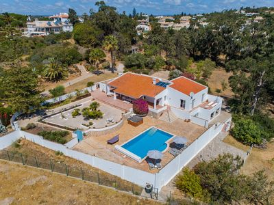 Photo for Large private family design villa with direct access nature and 500m beach