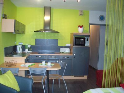 Photo for Studio Missy, terrace wifi and parking, residential area of Genette