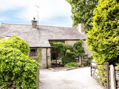 Photo for HAWORTH BARN, pet friendly, with open fire in Stainforth, Ref 924446