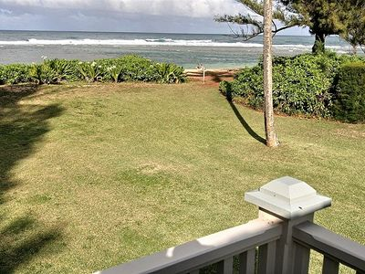 Photo for Beachfront. Plantation Style Classic Cottage. Barrier Reef Snorkeling Swimming.