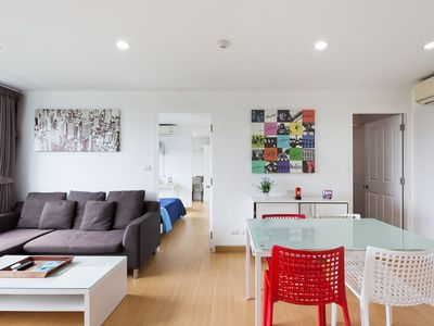 Photo for New beautiful apartment, with view of the mountains, pool, gym