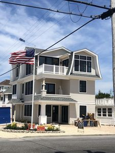 Photo for New construction 5 houses from beach, lifeguard beach, pet friendly