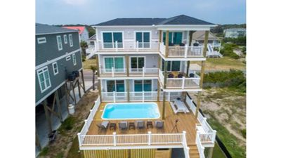 Photo for Brand New,Luxury-7 BR/6. BA,Oceanfront Home-Elevated POOL & Elevator-Sleeps 21