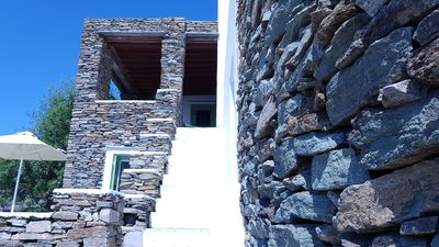 Photo for Artistic Cycladic Residence with spectacular panoramic view