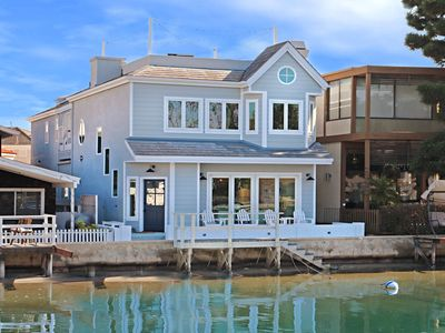 Photo for Fabulous 4 bedroom, 4 bath home on the Little Island side of Grand Canal