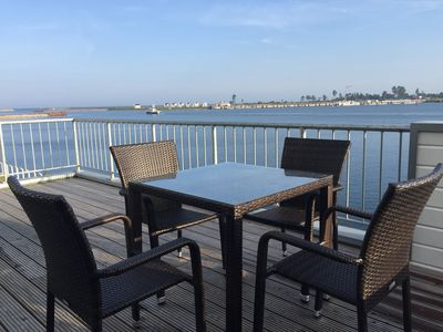 Photo for 3-room-maisonette-apartment with panoramic view: CAPTAIN'S LOUNGE