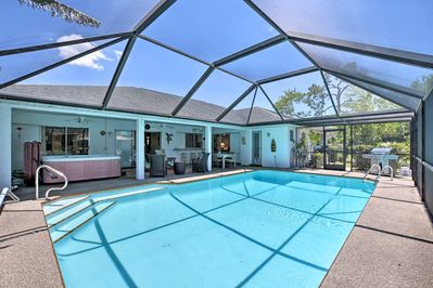 Dive into your next Cape Coral vacation at this vacation rental home.