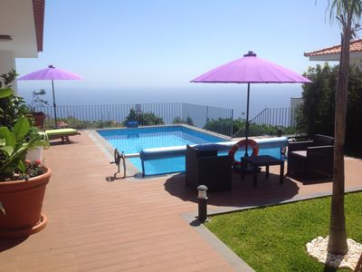 "Photo for 5 Star Dream "" Blue Villa"" with Heated pool, heat & air cond, sauna & Jaccuzi"