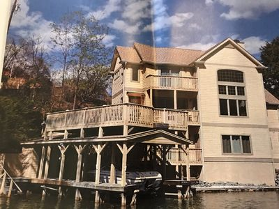 Photo for Immaculate Lakefront Home
