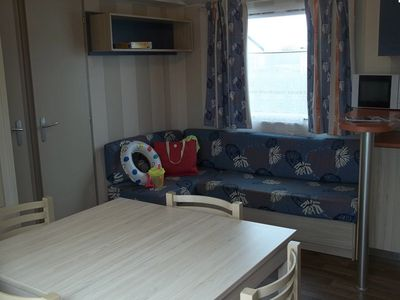 Photo for Camping La Pointe du Talud *** - Mobile home Titania 6 Persons 4 Rooms