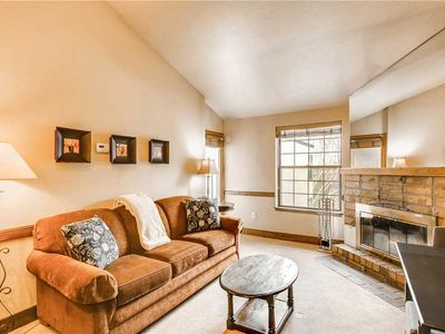 Photo for Comfortable Condo Located Near Lifts w/ Wood Burning Fireplace