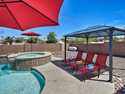 Photo for NEW! Lake Havasu City House w/Yard, Pool & Hot Tub