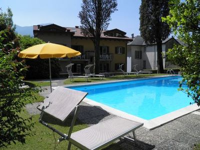 Photo for 3-room holiday apartment Cedro 208 located on the 1st floor, just a short walk away from the lake, w