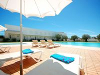 Great house. Enormous terrace. Lovely to have a private entrance onto the pool.