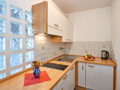 Photo for In a sunny, cozy, quiet, family-friendly apartment in the Dolomites