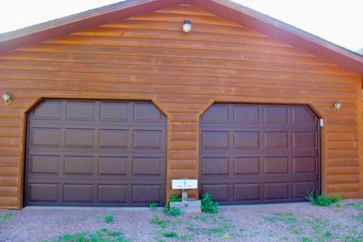 Oversized garage for your toys